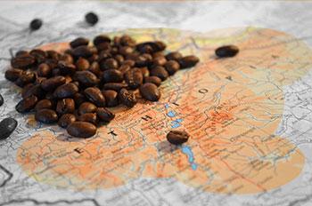 Ιστορία και προέλευση του καφέ